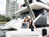 Pianovers Sailaway #2, Janice Kng, and Bhee Tan with piano
