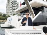 Pianovers Sailaway #2, Aaron Matthew Lim with piano