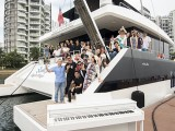Pianovers Sailaway #2, Group picture with piano #3