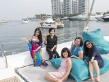 Pianovers Sailaway #2, Christina, Alice, Catherine, Felicia, and Adele