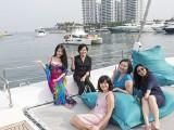 Pianovers Sailaway #2, Christina, Alice, Catherine, Felicia, and Adele