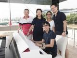 Pianovers Sailaway #2, Albert, Winny, Erika, Hiro, and Siew Tin