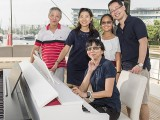 Pianovers Sailaway #2, Albert, Winny, Erika, Hiro, and Siew Tin #2