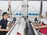 Pianovers Sailaway #2, Siew Tin, and Albert