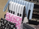 ThePiano.SG Pop-up Stall @ Serangoon Gardens Country Club, Piano themed handbags, purses, and clutch bags