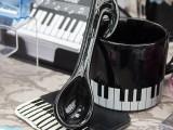ThePiano.SG Pop-up Stall @ Serangoon Gardens Country Club, Piano themed mugs