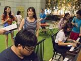 Pianovers Meetup #81, Zafri, and Yu Wei playing