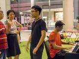 Pianovers Meetup #82 (Hari Raya Themed), William, May Ling, Kendrick, and Theng Beng