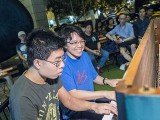 Pianovers Meetup #84, Jeremy, and Yuqing performing