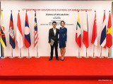 ThePiano.SG @ 6th Meeting of Governors/Mayors of ASEAN Capitals, Ma Yuchen, and Vanessa Vanderstraaten