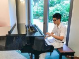 ThePiano.SG @ 6th Meeting of Governors/Mayors of ASEAN Capitals, Ma Yuchen rehearsing