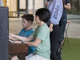 Pianovers Meetup #85, Lucas, and Chng Jia Hui playing