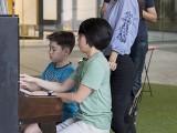 Pianovers Meetup #85, Lucas, and Chng Jia Hui playing