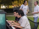 Pianovers Meetup #85, Jeremy Foo, and Teh Yuqing playing