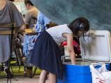 Pianovers Meetup #86, Gwen choosing a packet of drinks