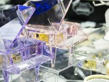 ThePiano.SG Pop-up Stall @ Suntec Hall 404, Piano themed crystal music boxes