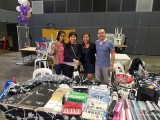 ThePiano.SG Pop-up Stall @ Suntec Hall 404, Janice, Jia Hui, Elyn, and Yong Meng