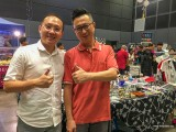 ThePiano.SG Pop-up Stall @ Suntec Hall 404, Yong Meng, and Nicholas Sentosa