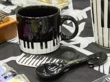ThePiano.SG Pop-up Stall @ Suntec Hall 404, Piano themed mugs