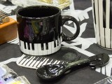 ThePiano.SG Pop-up Stall @ Suntec Hall 404, Piano themed mugs