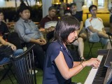 Pianovers Meetup #87, Jessica performing