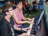 Pianovers Meetup #88 (NDP Themed), Siew Tin, and May Ling performing