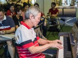 Pianovers Meetup #88 (NDP Themed), Albert performing
