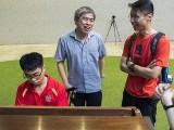 Pianovers Meetup #88 (NDP Themed), Kendrick Ong, Adrian Huang, Gan Theng Beng, and Janice Liew