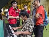 Pianovers Meetup #88 (NDP Themed), Mr Tan playing