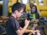 Pianovers Meetup #90, Hiro performing