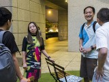 Pianovers Meetup #90, Hiro, Novita, Novita's hubby, and Yong Meng