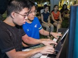 Pianovers Meetup #92, Jeremy Foo, and Teh Yuqing performing