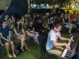 Pianovers Meetup #93, Hiro performing