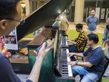 Pianovers Meetup #94 (Mid-Autumn Themed), Kendrick Ong, and Teo Gee Yong performing