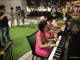 Pianovers Meetup #94 (Mid-Autumn Themed), Julia Goh, May Ling, and Lim Ee Fong playing