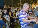 Pianovers Meetup #95, Albert performing