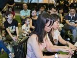 Pianovers Meetup #95, Li Zhijing, and Ten Xiao Qin performing