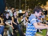 Pianovers Meetup #95, Hiro performing