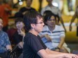 Pianovers Meetup #96, Hiro performing