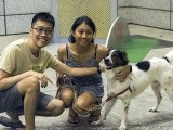 Pianovers Meetup #96, Kenneth Guan, Roxanne, and dog