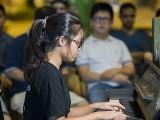 Pianovers Meetup #98, Erika performing