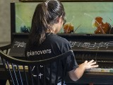 Pianovers Meetup #98, Erika performing for us