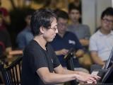 Pianovers Meetup #98, Hiro performing