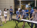 Pianovers Meetup #100 (Celebratory Themed), Mr Tan, and Yan Heng playing