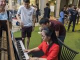 Pianovers Meetup #100 (Celebratory Themed), Ashley playing