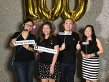 Pianovers Meetup #100 (Celebratory Themed), Pianovers taking picture at photo booth #34