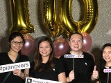 Pianovers Meetup #100 (Celebratory Themed), Pianovers taking picture at photo booth #35
