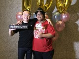 Pianovers Meetup #100 (Celebratory Themed), Pianovers taking picture at photo booth #43