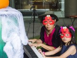 Pianovers Meetup #99 (Halloween Themed), Lim Ee Fong, and Emmy Koh