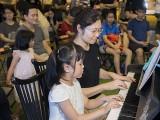 Pianovers Meetup #103, Ellie, and Ng Mun Yee performing